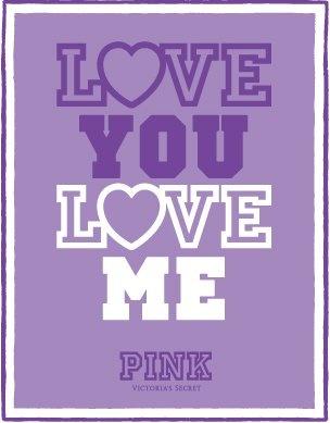 Love You Love Me #VS #PINK