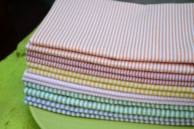 Seersucker Cocktail Napkins: Seersucker Clothing, Army, Seersucker Cocktails, 618 Inch, Friends Clothing, Clothing Napkins Sets, Clothing Napkinsset, Cocktails Napkins, Cloth Napkins