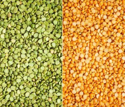 What is the difference between Yellow and Green SPLIT PEAS... CLICK ON LINK  http://www.livestrong.com/article/258824-the-nutritional-value-of-yellow-split-peas/