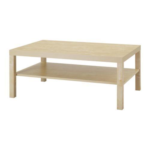 LACK Couchtisch - Birkenachbildung - IKEA