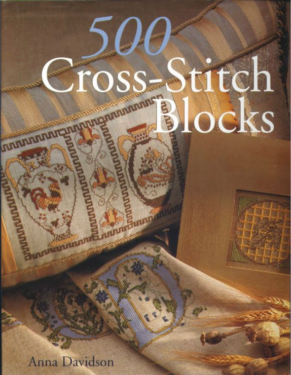 Gallery.ru / Фото #1 - 500 Cross Stitch Blocks - thabiti