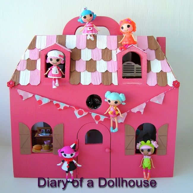High Quality Lalaloopsy Mini Dollhouse Outside Gets Updated