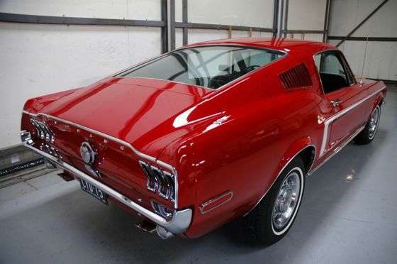 1968 390 V8 Ford Mustang GT fastback
