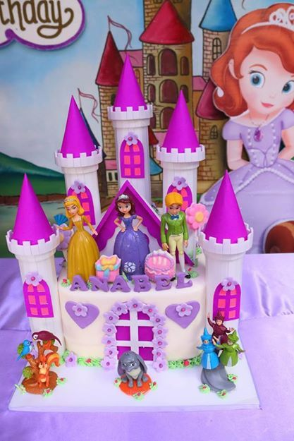 Sweet Sofia Cake Design Verona : Best 25+ Princess sofia birthday ideas on Pinterest ...