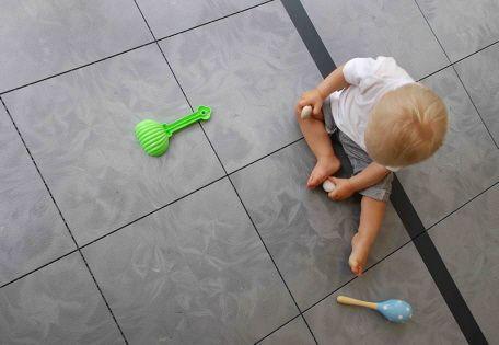 Gesunder Boden bedeutet gesunde Kinder - Bergo Bodensysteme