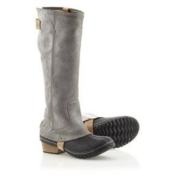 SOREL: Women's Slimpack™ Riding Boot. This boot will be mine.....oh yes, it will be mine.