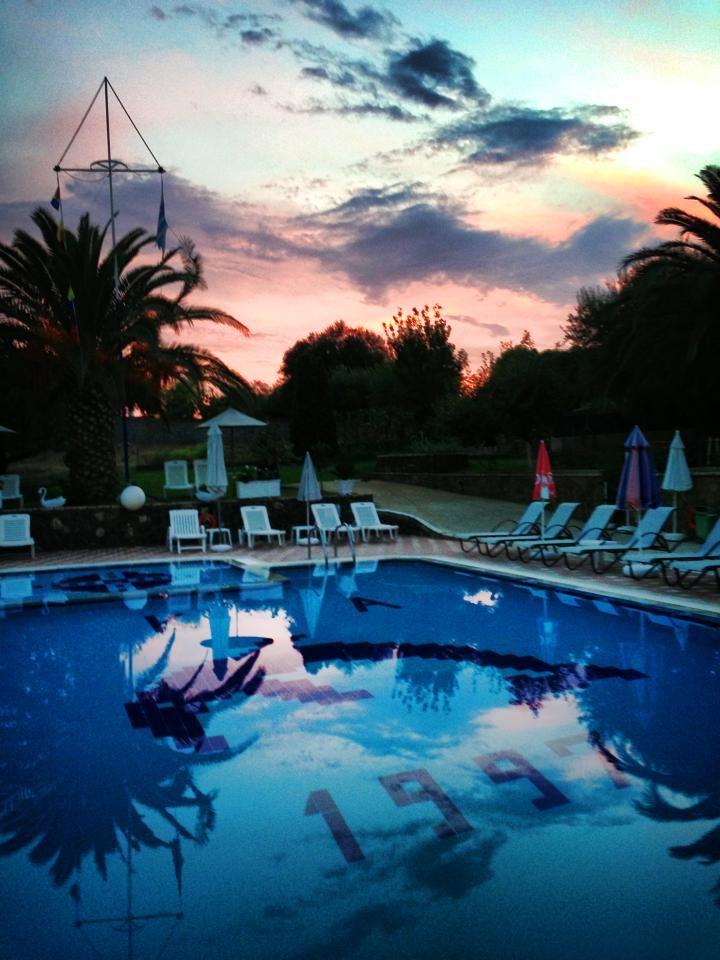 Another amazing sunset at Mathraki Corfu Resort. http://www.mathrakicorfuresort.com