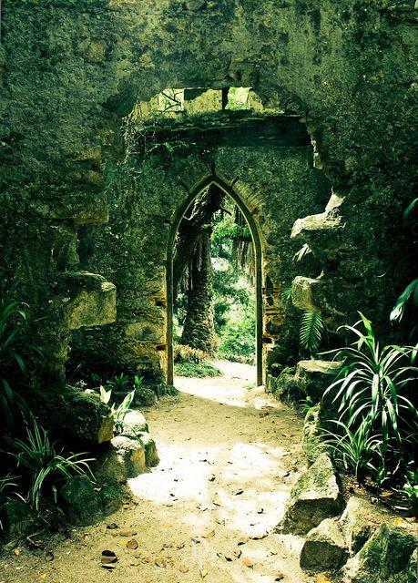 Ancient Portal, Sintra, Portugal photo via bohemian