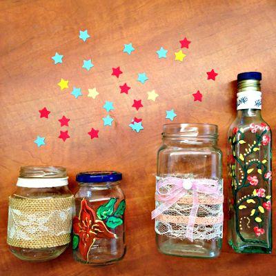 Τρεις ιδέες για DIY διακόσμηση στα βαζάκια και τα μπουκάλια της κουζίνας σου. http://ift.tt/2nm3wsD  #edityourlifemag