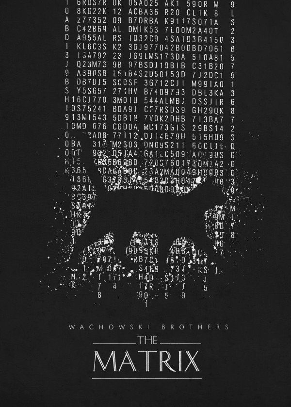 Matrix Movies Poster Print Metal Posters Displate Movie