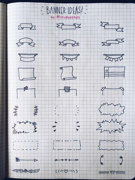 Banner Ideas - verschiedene Formen