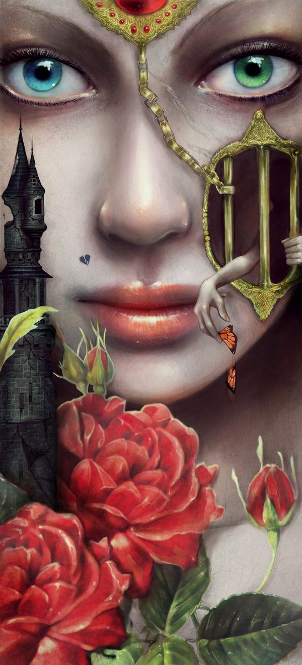 She lives in a fairy tale by =RomanticFae on deviantART
