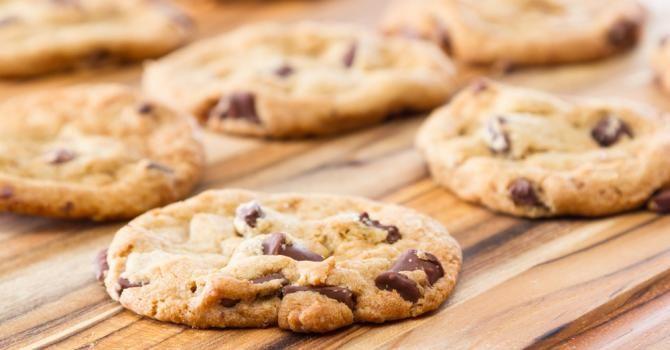 Recette de Cookies aux pépites de chocolat spécial KitchenAid®. Facile et rapide à réaliser, goûteuse et diététique.