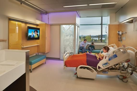 patient rooms of the future | Patient rooms were designed to be universal to allow the hospital more ...