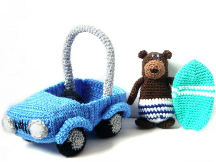 Amigurumi Patterns Cars : 786 best crochet i like vehicles images on pinterest amigurumi