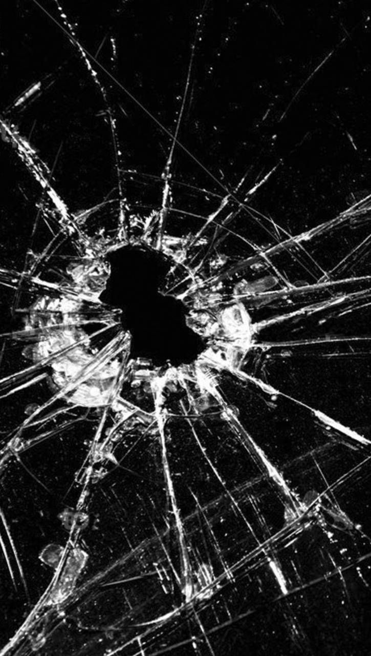 Download Broken Screen Wallpaper By Xhani Rm 1f Free On