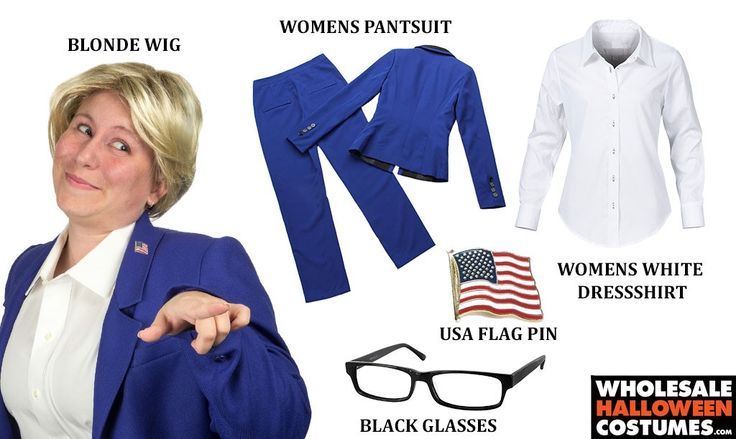 DIY Hillary Clinton Costume for #Halloween 2015!