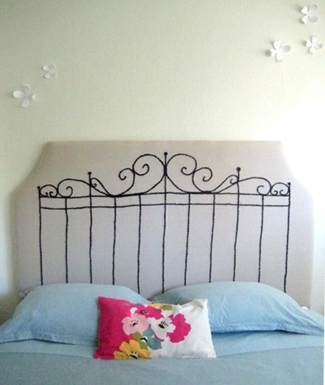Painted Headboard Ideas 12 best painted headboards! images on pinterest | bedroom ideas