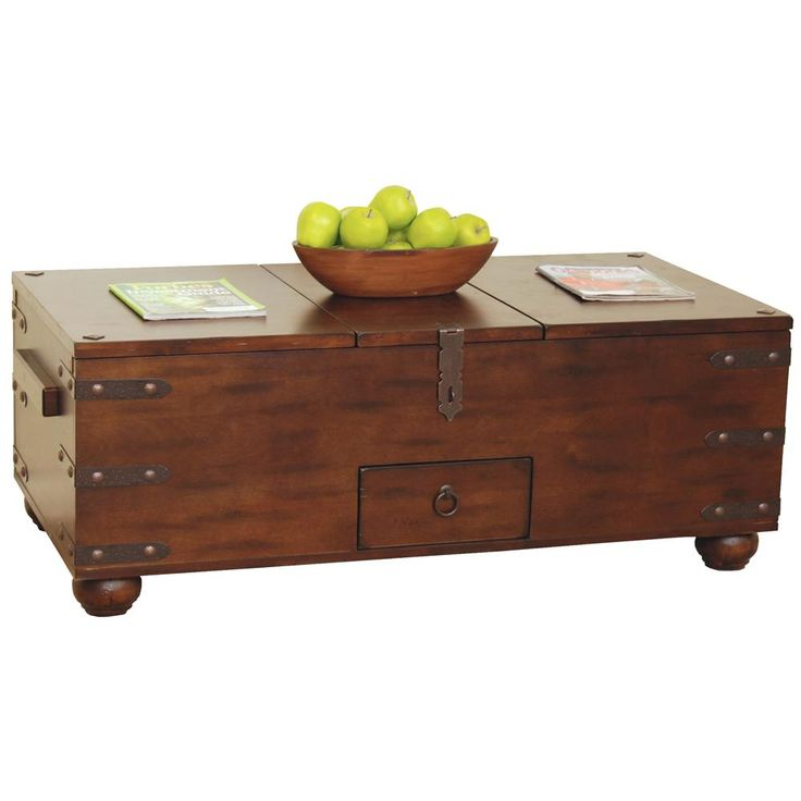 Santa Fe Traditional Storage Coffee Table By Sunny Designs Furniture Storage And Santa Fe