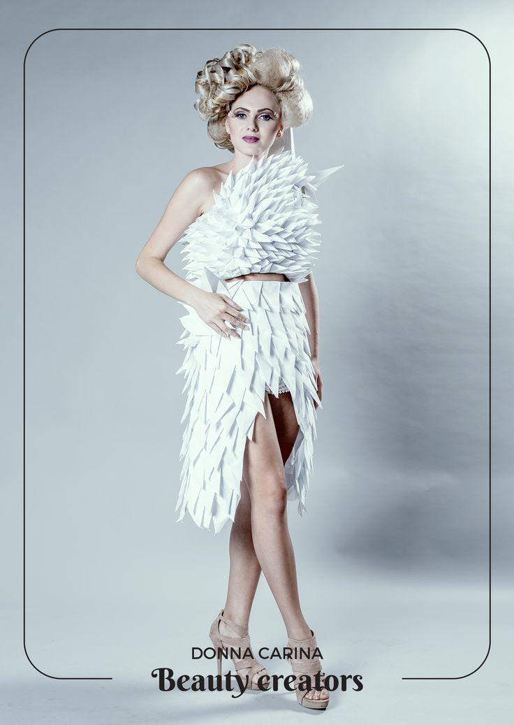 Idei de coafuri si machiaj pentru evenimente speciale.  #beautycreators #donnacarina #masquerade #carnaval