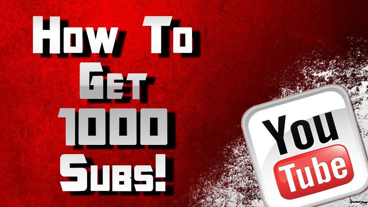 How To Get 1000 Youtube Subscribers A Day (Really Works)