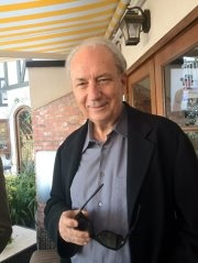 Mike Nesmith (The Monkees) at Davy Jones Private Memorial