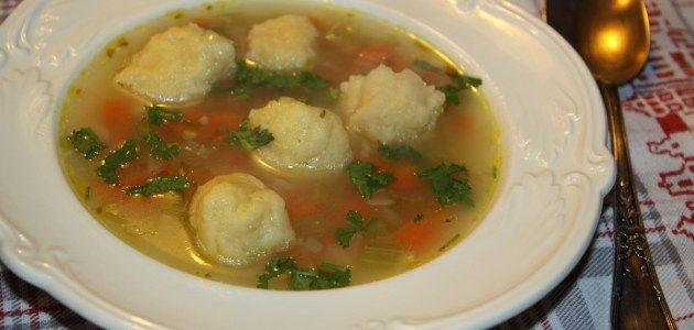 Португальский куриный суп с клецками – Вся Соль - кулинарный блог Ольги Баклановой
