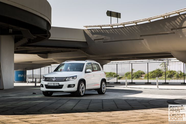 Volkswagen Tiguan R-Line. Hitting trouble. Management Fleet