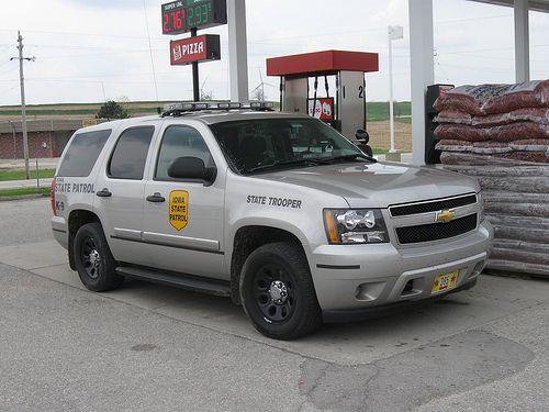 Iowa State Patrol. cuz  we <3 277! he is the best.