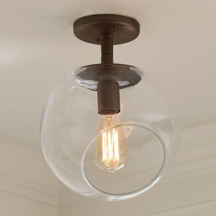 Wonky Glass Ceiling Light