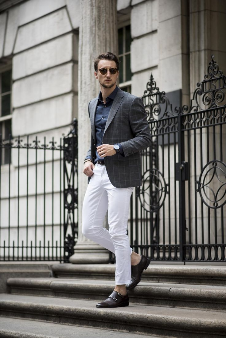 How to: 3 ways to wear white jeans for men