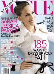 Sarah Jessica Parker on the cover of Vogue... The Age Issue