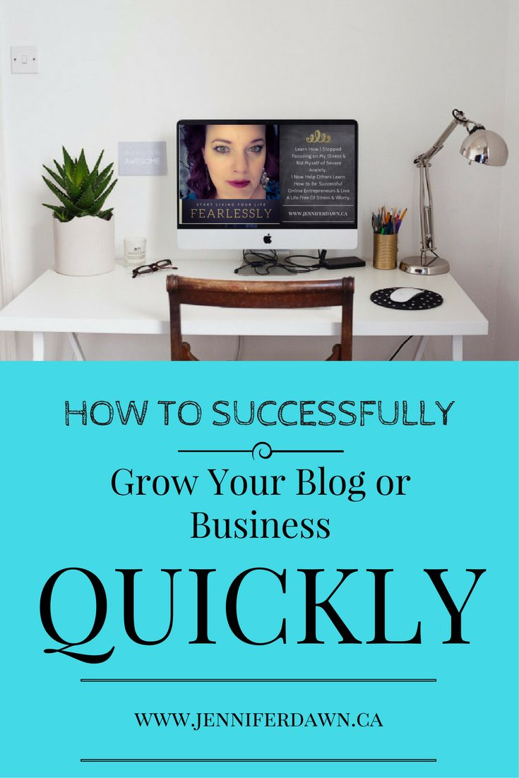 Do you want to know how to Successfully Grow Your Blog Or Business? Then read on! I am going to share with you some of the best methods to Grow Your Blog or Business Quickly! New