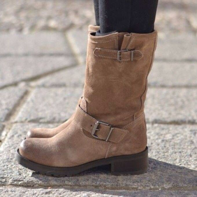 Just love the casual boots.