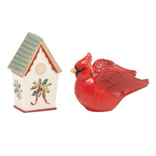 Fantastical Bird Salt And Pepper Shakers. Lenox Winter Greetings Birdhouse Salt and Pepper Shaker Set 46 best  Shakers images on Pinterest