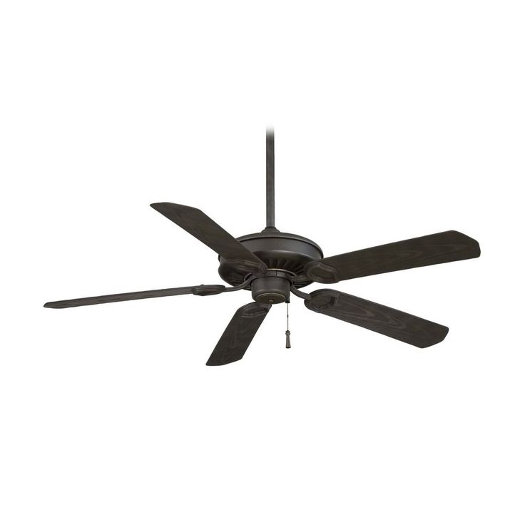 The 25 best ceiling fans without lights ideas on pinterest ceiling fan without light in black iron with brushed nickel accents finish aloadofball Image collections