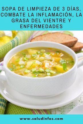 Sopa De Limpieza De 3 Días, Combate La Inflamación, La