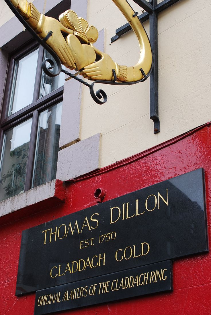 Galway, Ireland- shopped in here, where the original claddagh ring was made