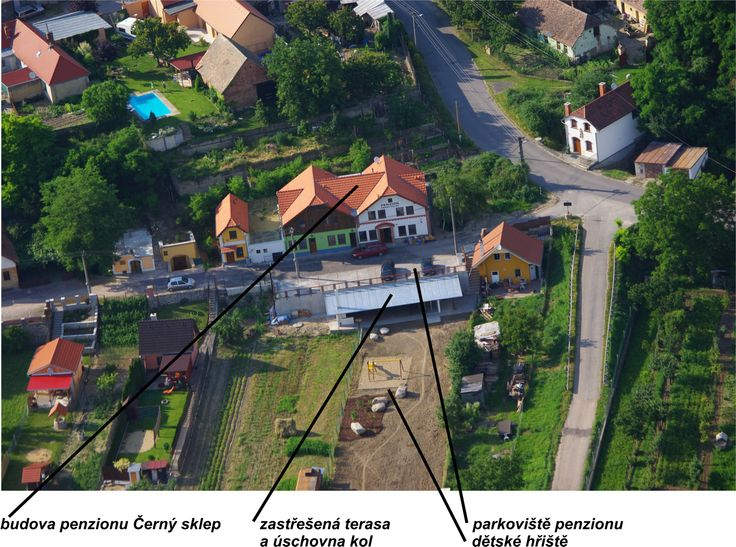 Penzion Černý sklep - Dobšice  www.cernysklep.cz Penzion 2* Superior