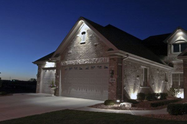 50 Outdoor Garage Lighting Ideas Exterior Illumination Designs In 2020 Garage Lighting Exterior House Lights House Ceiling Lights