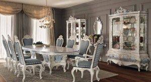 Meja Makan Mahkota Ukir Duco | Alfah Furniture