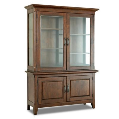 Klaussner Carturra Dining Room Buffet Hutch In Antique Bronze