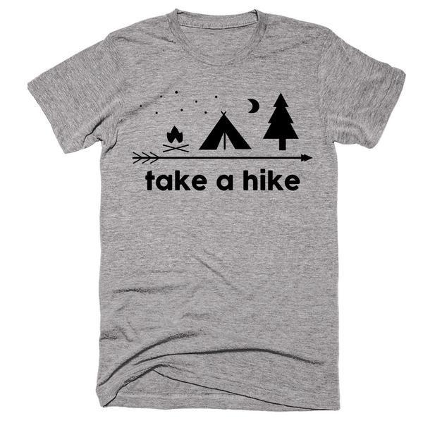 Take A Hike Camping T-Shirt