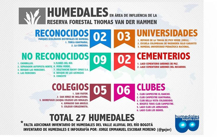 Humedales en el área de influencia de la Reserva Forestal Thomas Van Der Hammen - Fundación Humedales Bogotá