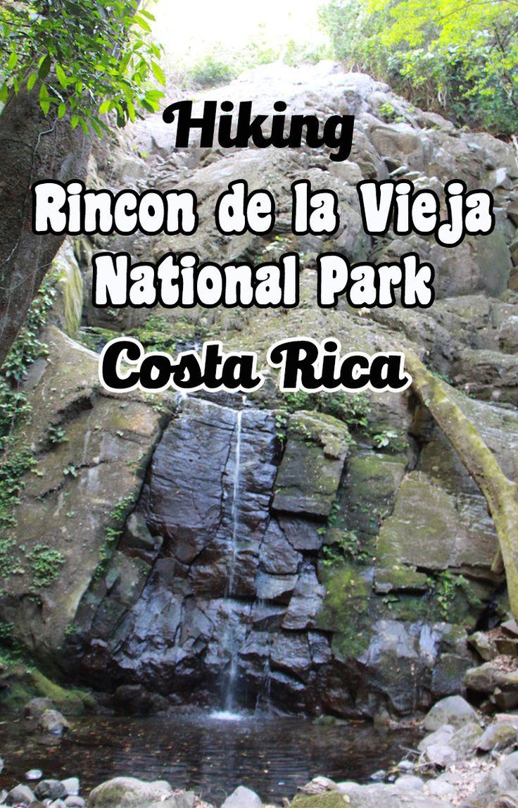 Es Rincon de la Vieja National Park Está en Guanacaste Costa Rica Se puede ir excursionismo