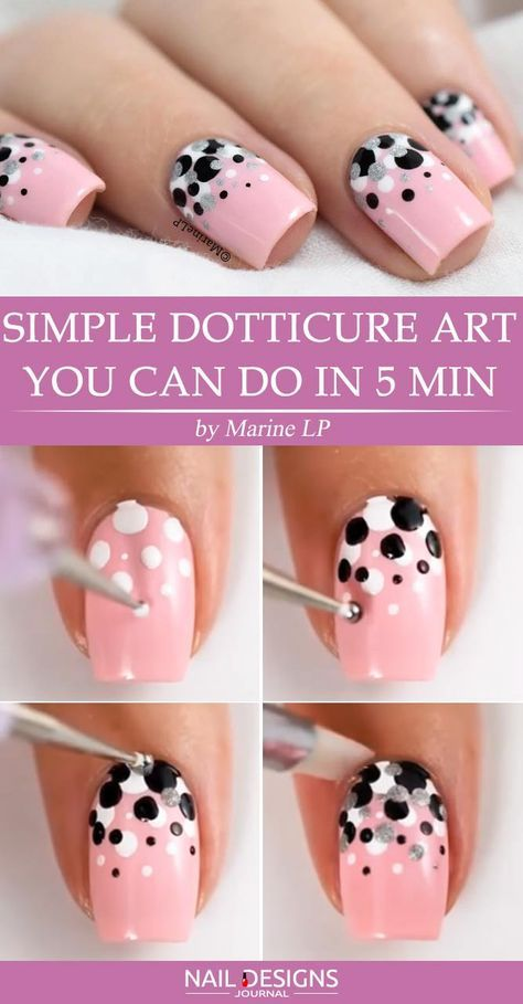 Quick Guide to 15 Stylish Yet Simple Nail Designs ★ See more: naildesignsjourn…