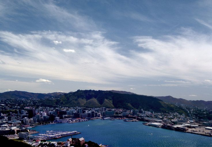 Wellington - New Zealand by bidwell.deviantart.com  My favorite city in New Zealand  Absolutely positively Wellington
