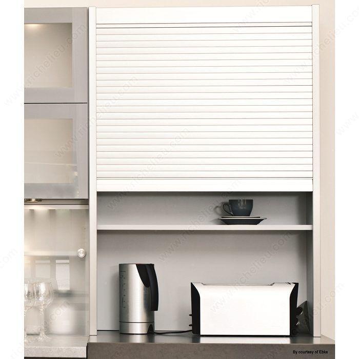Kitchen Cabinets Kits: Tambour Door Kit With Exact Widths