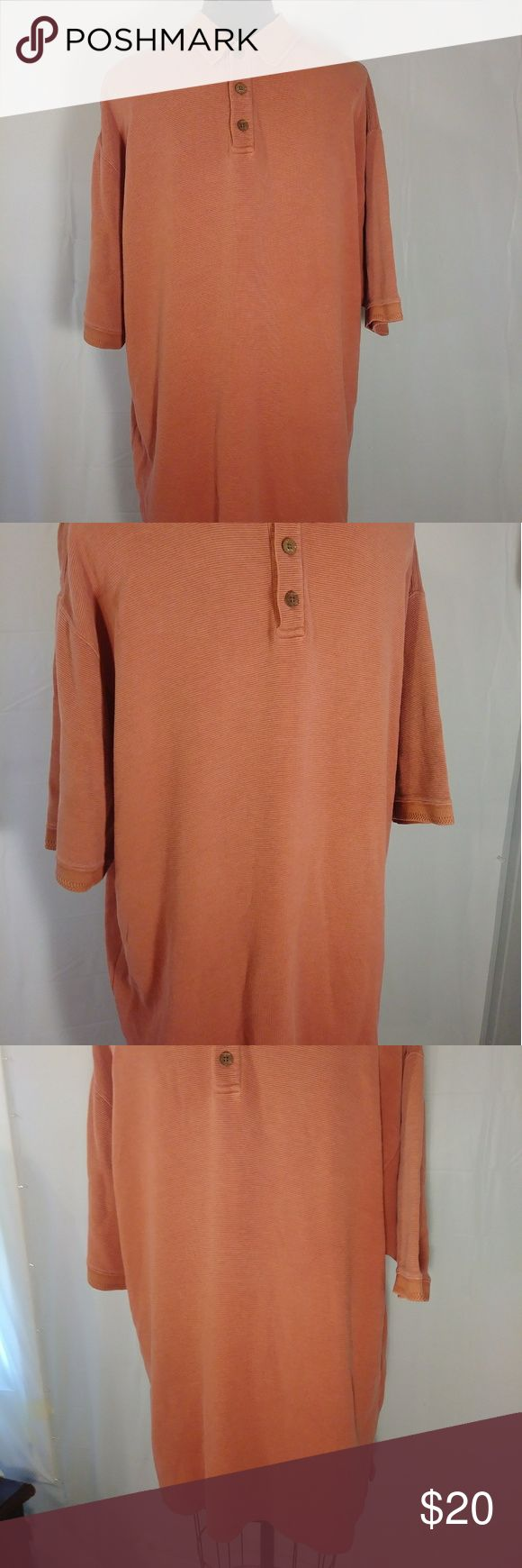 Tommy Bahama Polo Shirt Large Red Top Golf Wear Ca Tommy Bahama red polo shirt size large. Excellent pre-loved condition, no one else will know it's not new! Extra button attached to inside tag.  RN# 54545  Offers always welcome! Expedited shipping & free gift wrapping available upon request. Tommy Bahama Shirts Polos