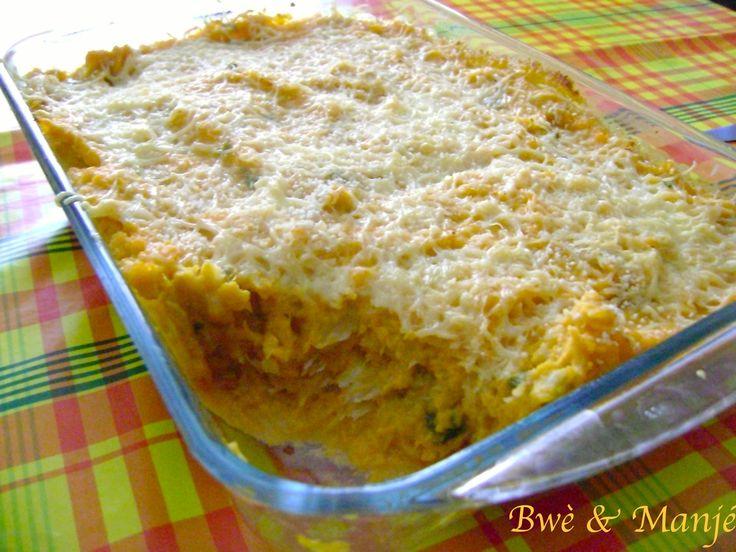 Brandade de morue aux patates douces et lait de coco | Bwè & Manjé